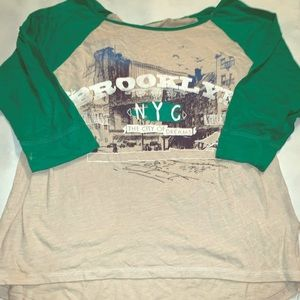 So Brooklyn NYC T-shirt large junior